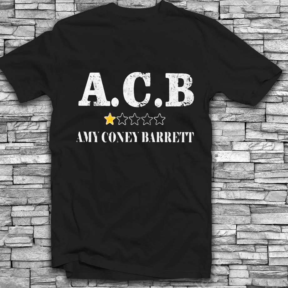 Amy Coney Barrett 1 star anti t-s Black