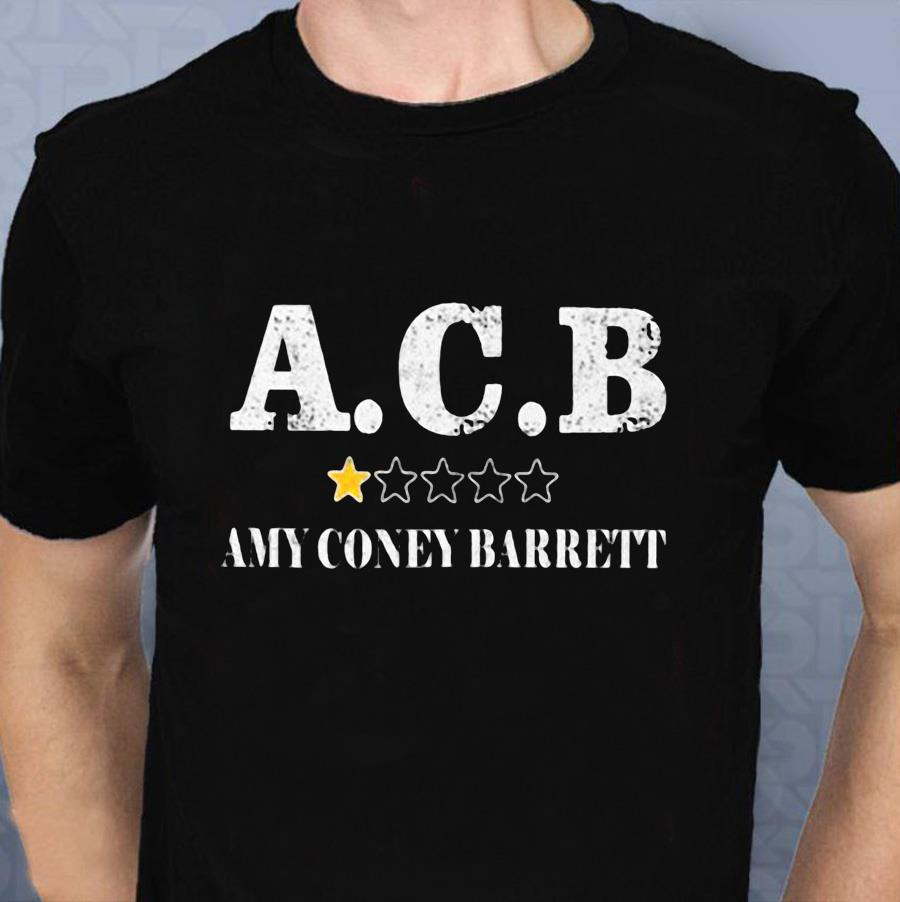 Amy Coney Barrett 1 star anti t-shirt