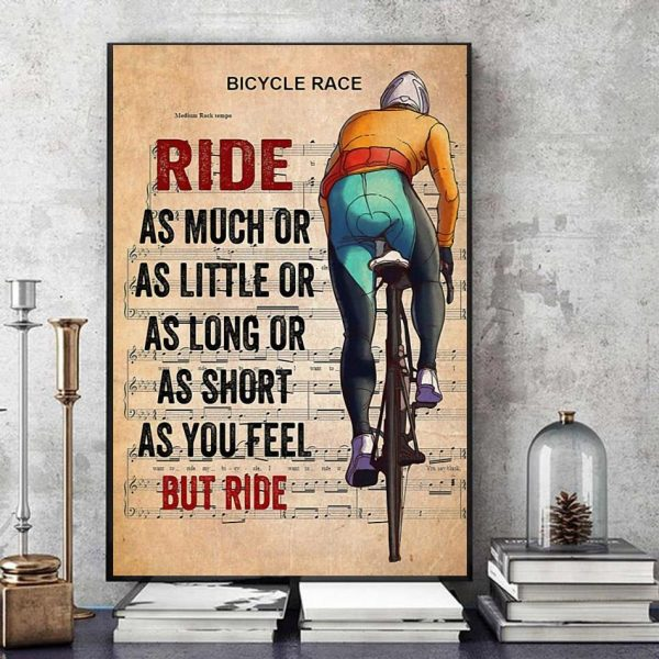 Bicycle race lyrics ride as much or as little canvas art