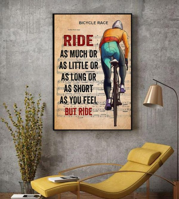 Bicycle race lyrics ride as much or as little canvas decor