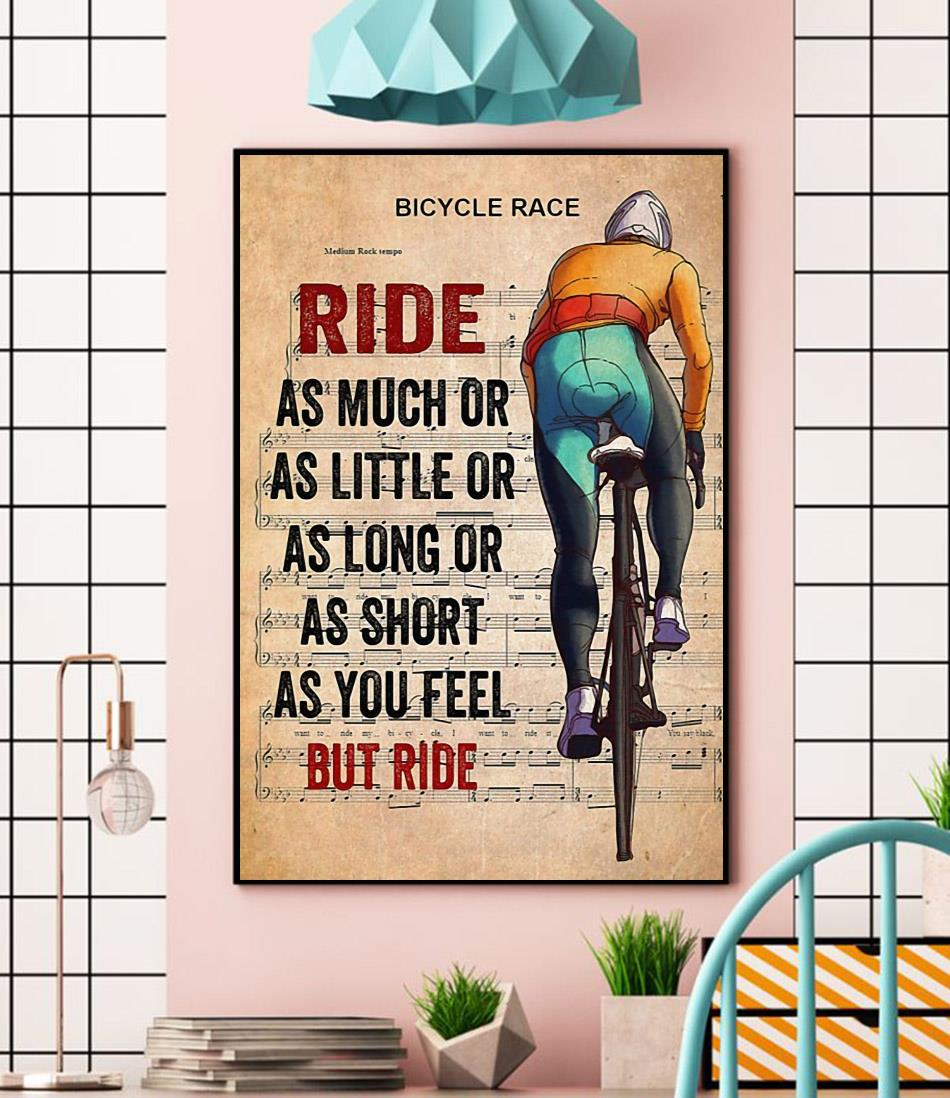 Bicycle race lyrics ride as much or as little canvas wall