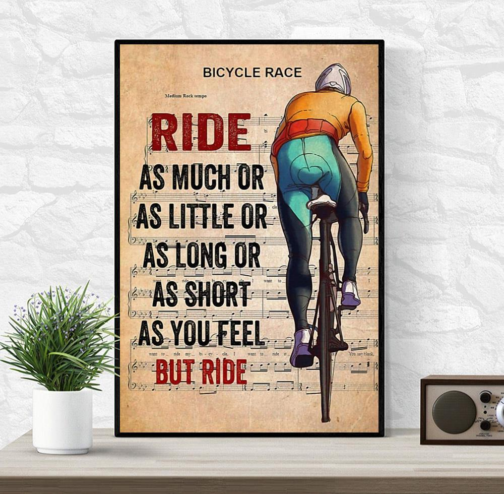 Bicycle race lyrics ride as much or as little canvas wrapped