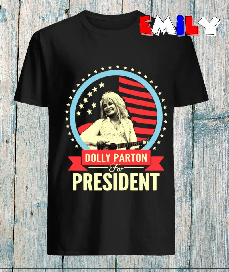 Dolly Parton for President American flag