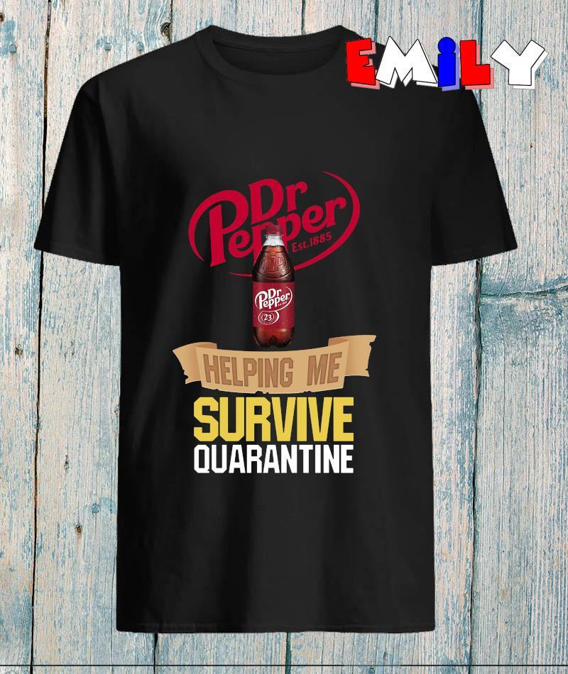Dr Pepper helping me survive quarantine 2020