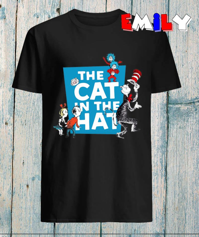 Dr Seuss and friend the cat in the hat