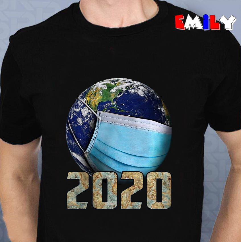 Earth Coronavirus 2020 unisex t-shirt