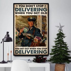 You don't stop delivering when you get old canvas