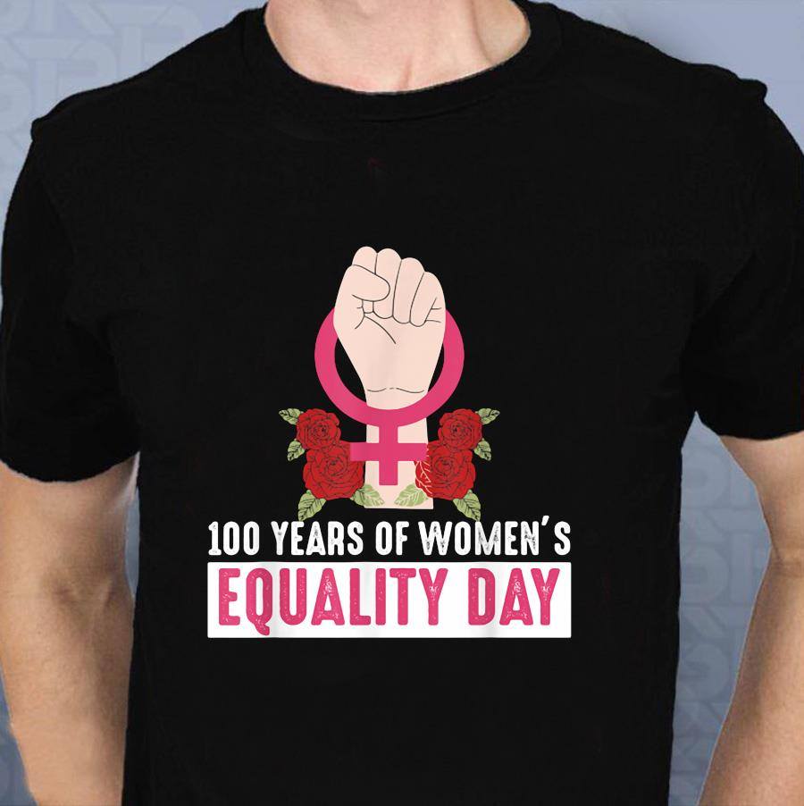 100 years of Suffragette1920 Supporting Centennial t-shirt