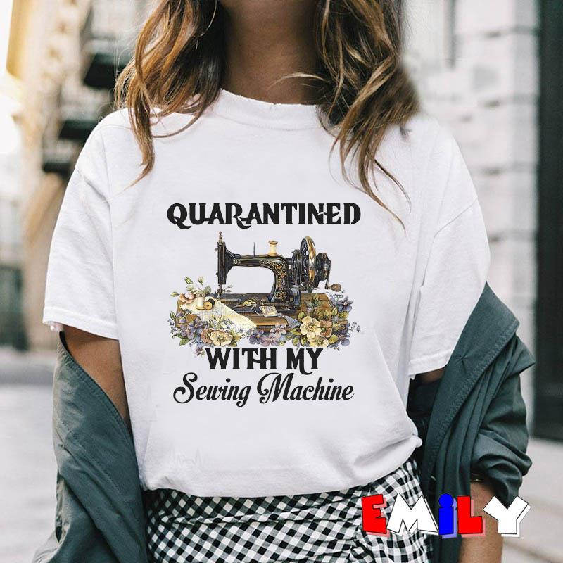 2020 quanrantined with my sewing machine