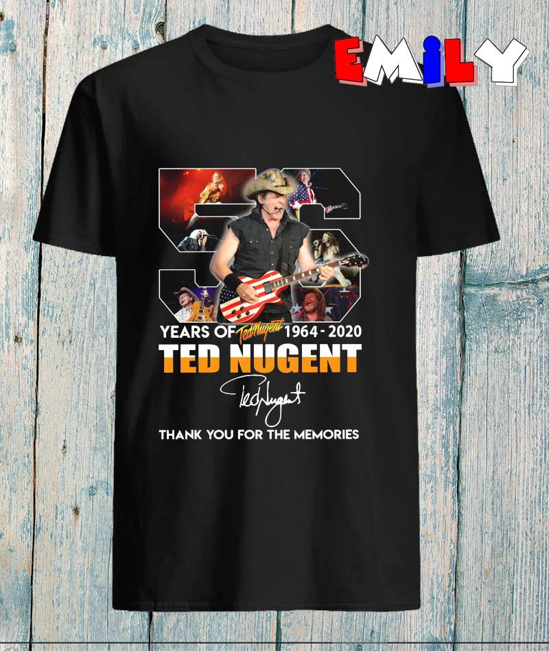 56 years of Ted Nugent 1964-2020 memories