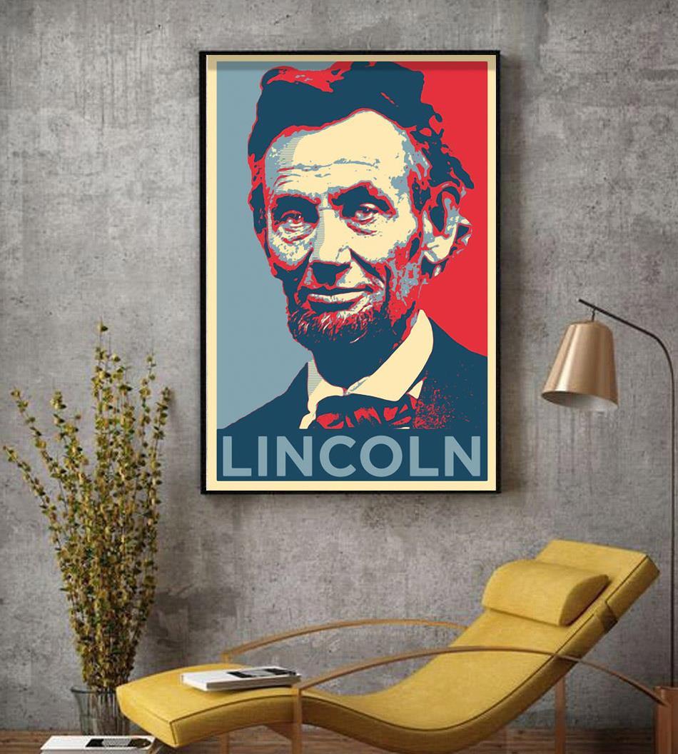Abraham Lincoln original art poster canvas decor
