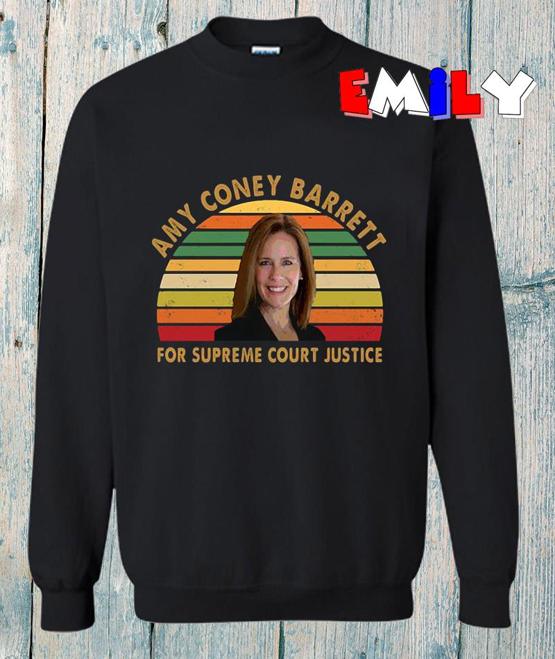 Amy Coney Barrett ACB for supreme court justice vintage s sweatshirt