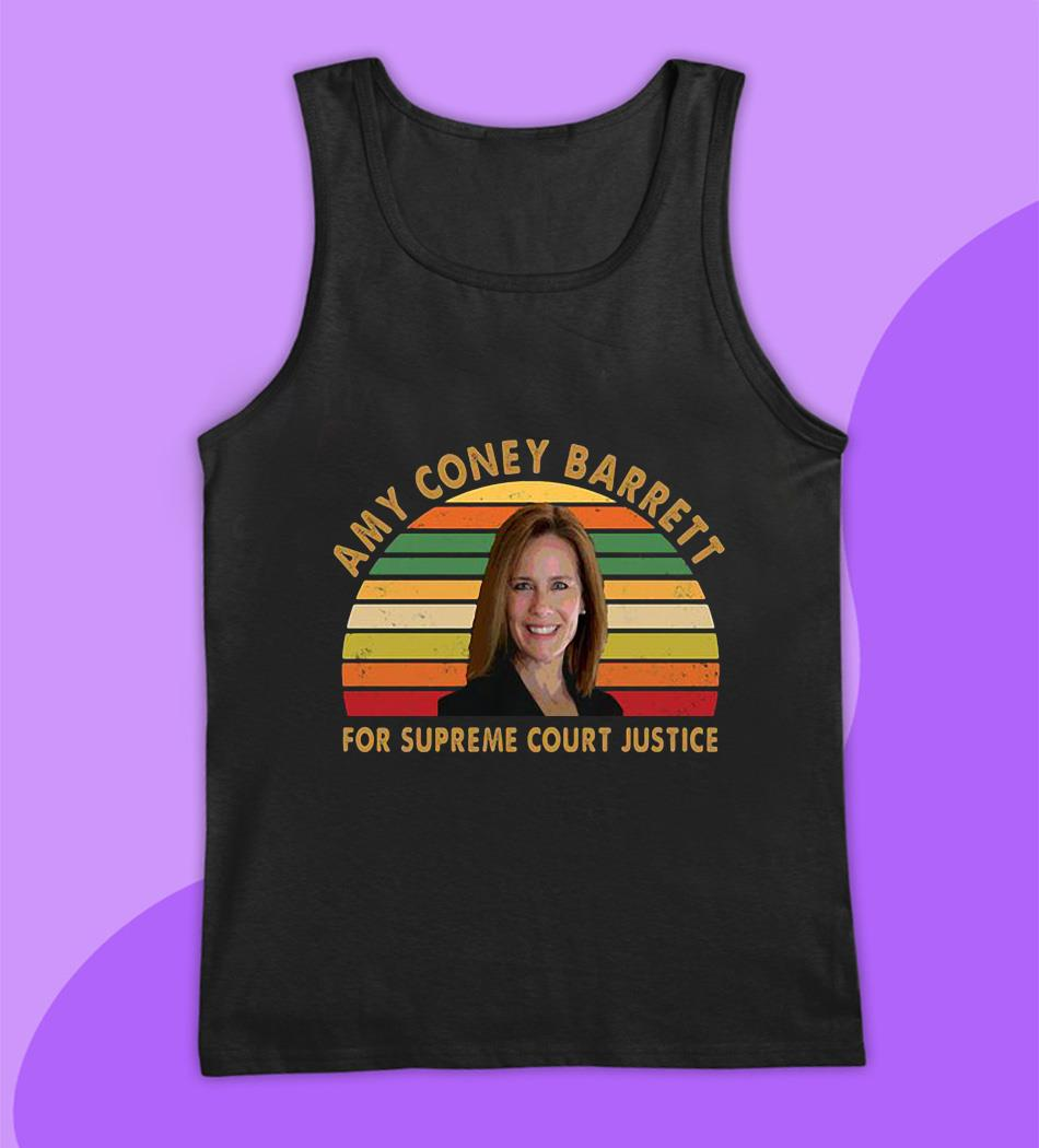 Amy Coney Barrett ACB for supreme court justice vintage s tank top
