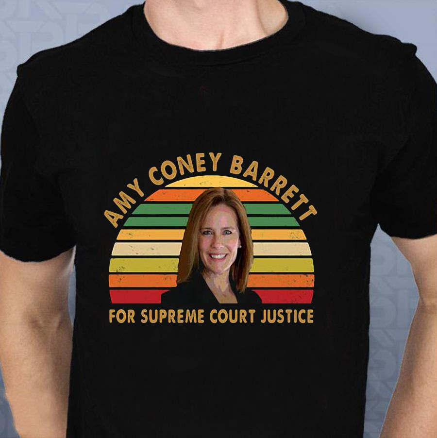 Amy Coney Barrett ACB for supreme court justice vintage shirt