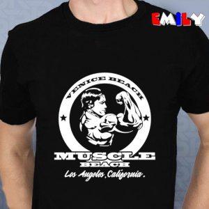 Arnold Schwarzenegger muscle beach unisex t-shirt