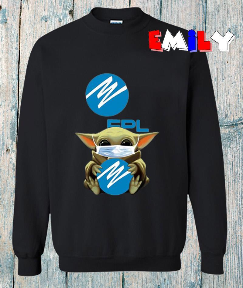Baby Yoda Florida Power quarantine 2020 sweatshirt