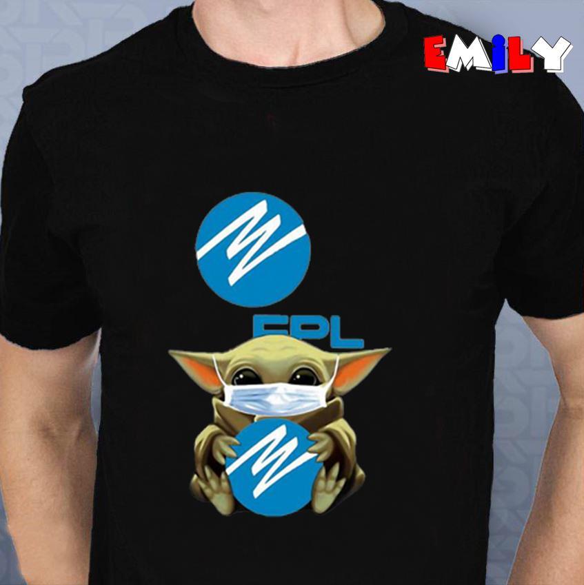 Baby Yoda Florida Power quarantine 2020 unisex t-shirt