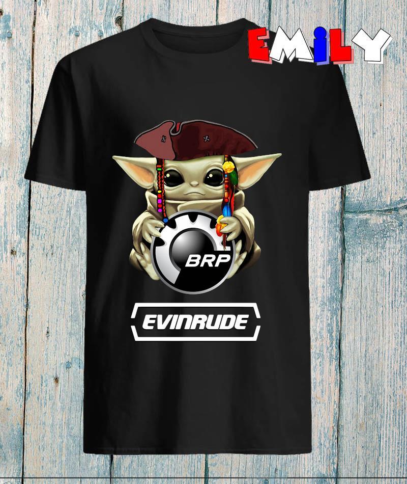 Baby Yoda hug Bombardier Recreational Evinrude