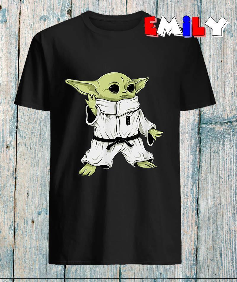 Baby Yoda mashup space character Jiu Jitsu