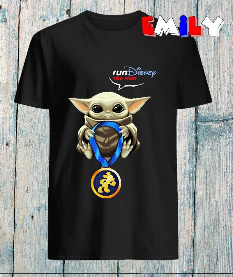 Baby Yoda Rundisney you must