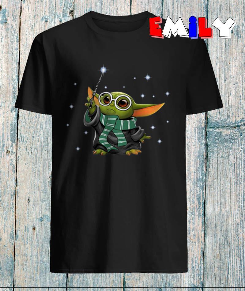 Baby Yoda style Harry Potter t-shirt