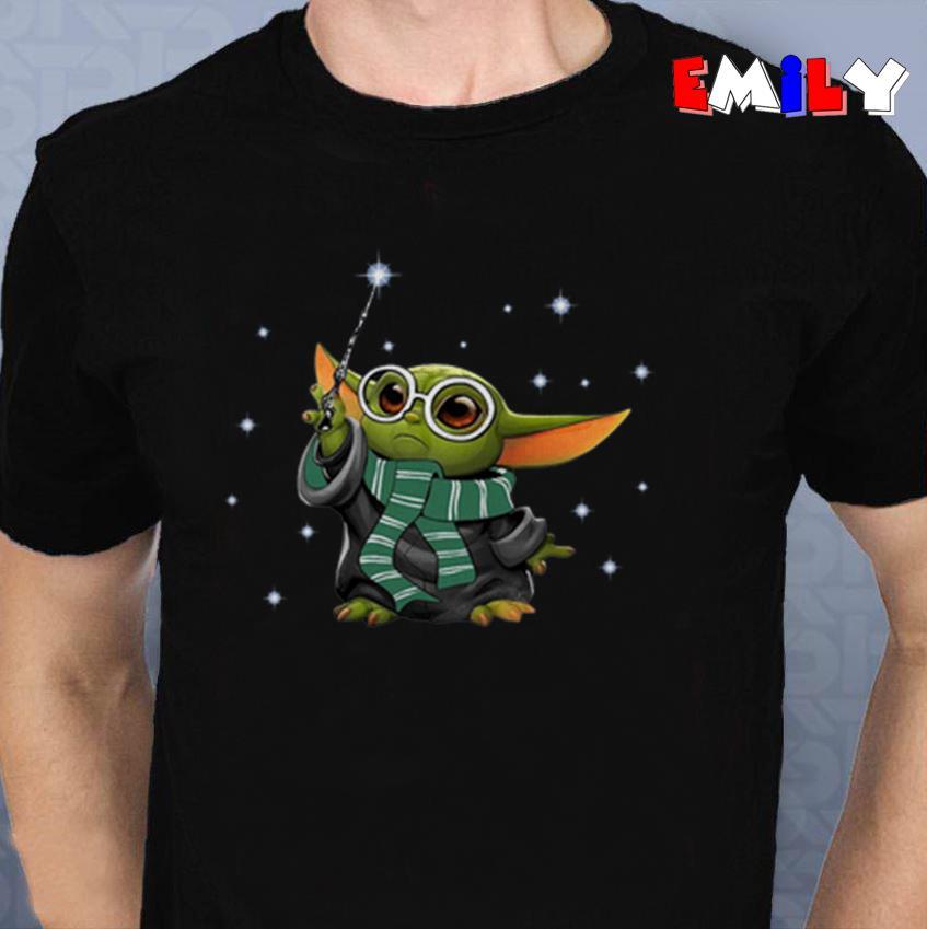 Baby Yoda style Harry Potter unisex-t-shirt