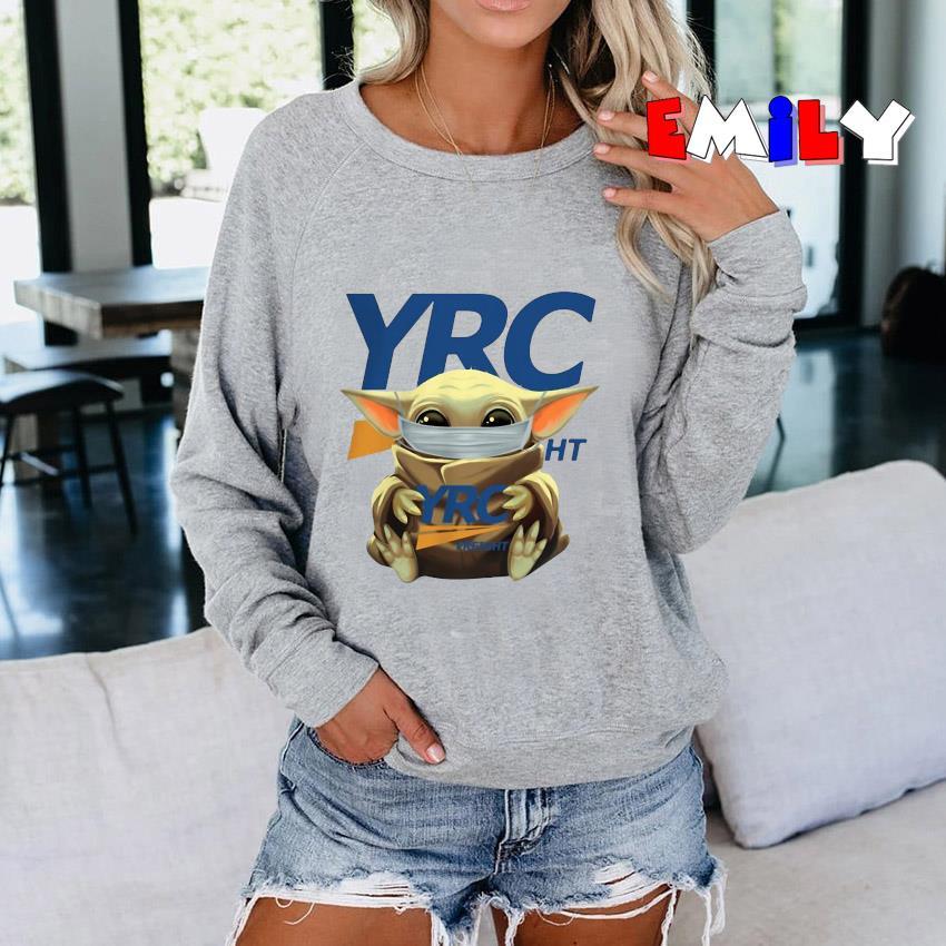 Baby Yoda Yrc Freight quarantine Sweatshirt