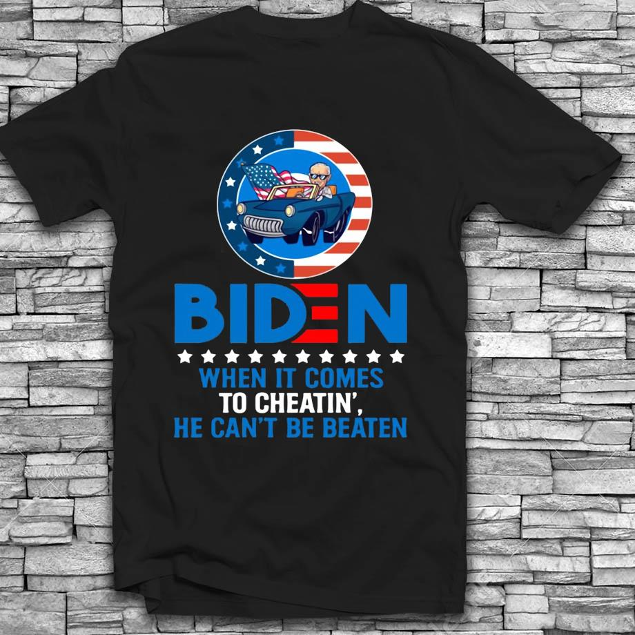 Biden 2020 when it comes to cheatin he can't be beaten t-s Black