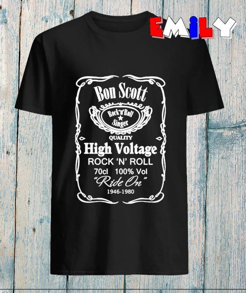 Bon Scott high voltage rock n roll