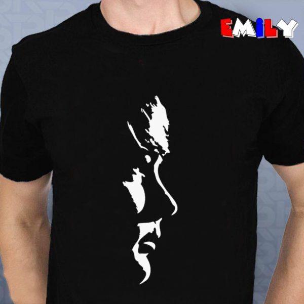 Brian Wilson Potrait white unisex t-shirt