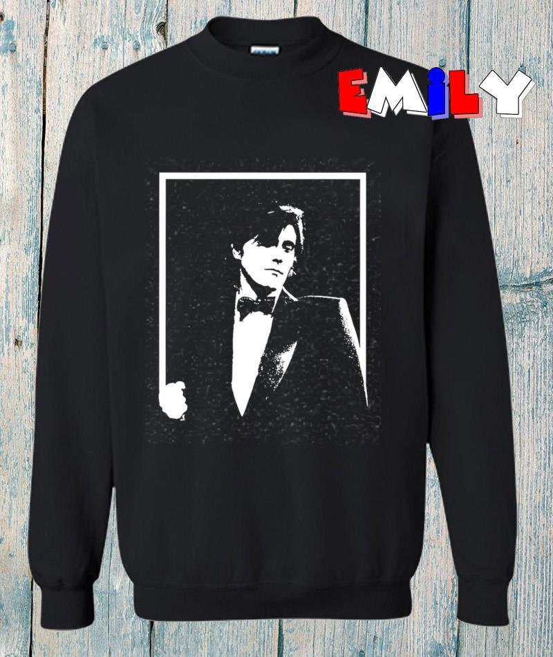 Bryan Ferry on stage 70s roxy music classic rock sweatshirt