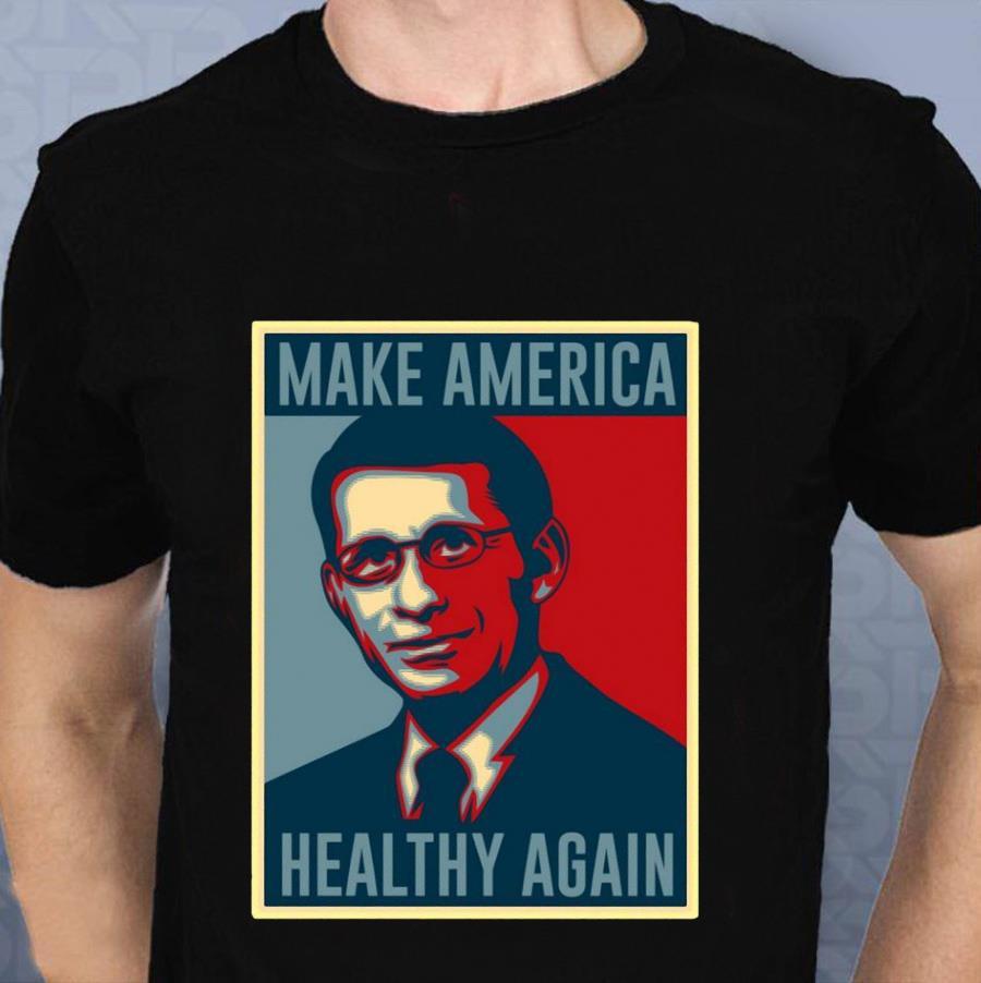 Cuomo Fauci 2020 make American heathy again t-shirt
