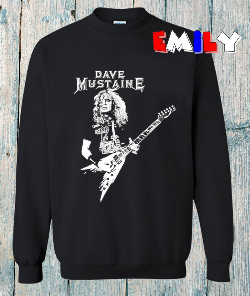 Dave Mustaine legend so cool mustaine a heavy metal sweatshirt