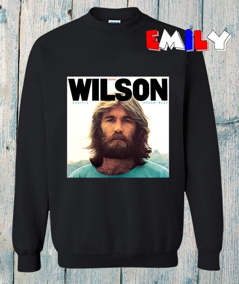 Dennis Wilson Pacific Ocean Blue & Bambu sweatshirt