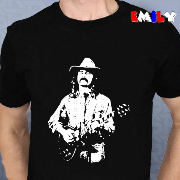 Dickey Betts American guitarist unisex t-shirt