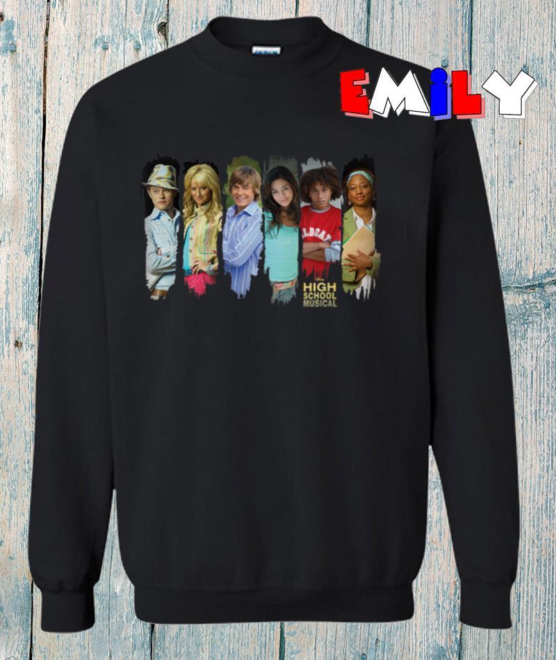 Disney Channel High School Musical characters sweatshirt
