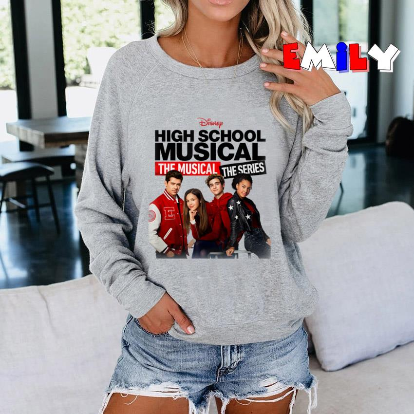 Disney High School Musical the musical series cast sweatshirt