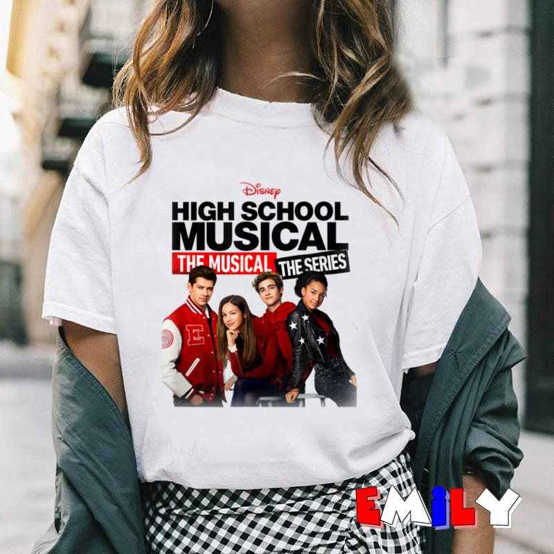Disney High School Musical the musical series cast t-shirt