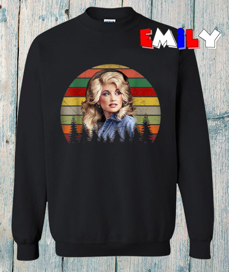 Dolly Parton retro vintage sweatshirt