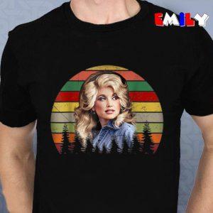 Dolly Parton retro vintage unisex t-shirt