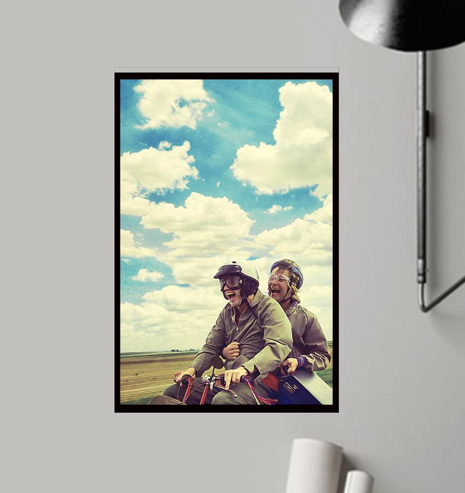Dumb and Dumber Jim Carrey film poster canvas frame