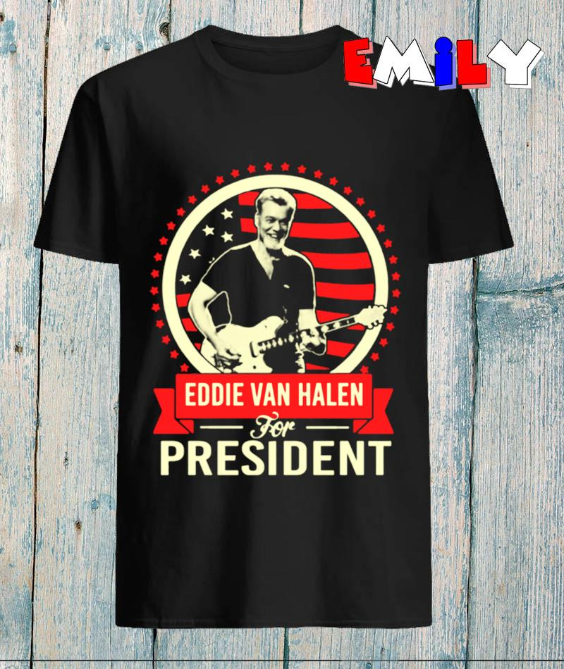 Eddie Van Halen for president