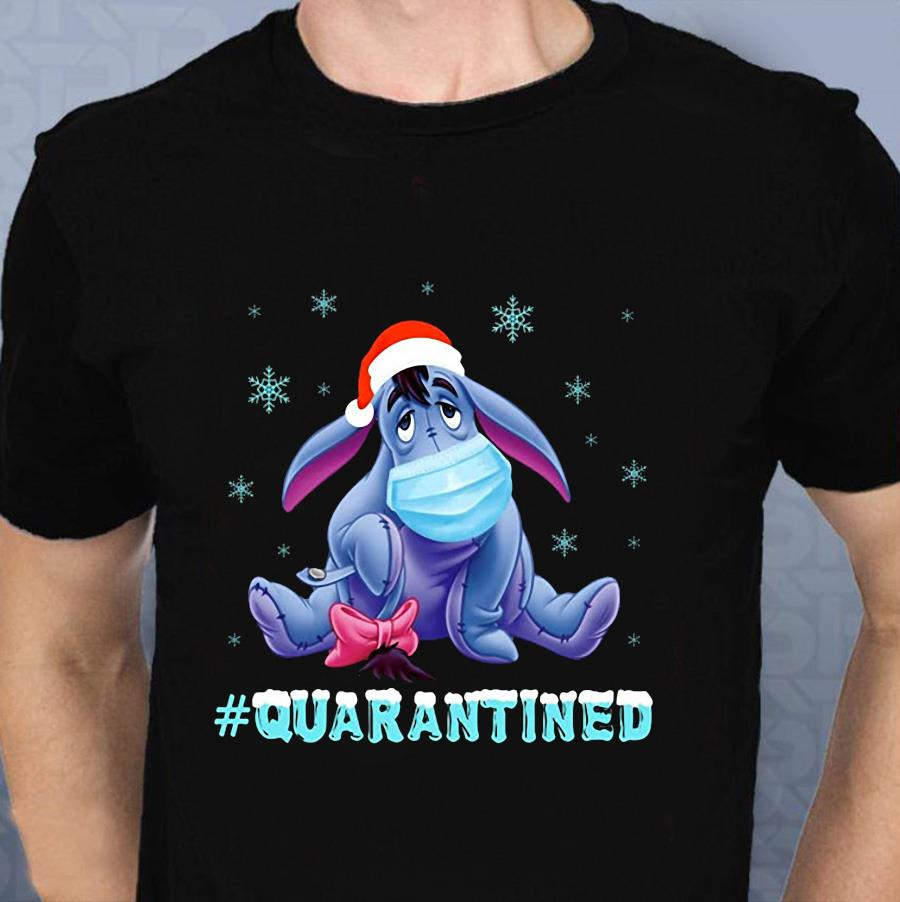 Eeyore Quarantined Christmas t-shirt