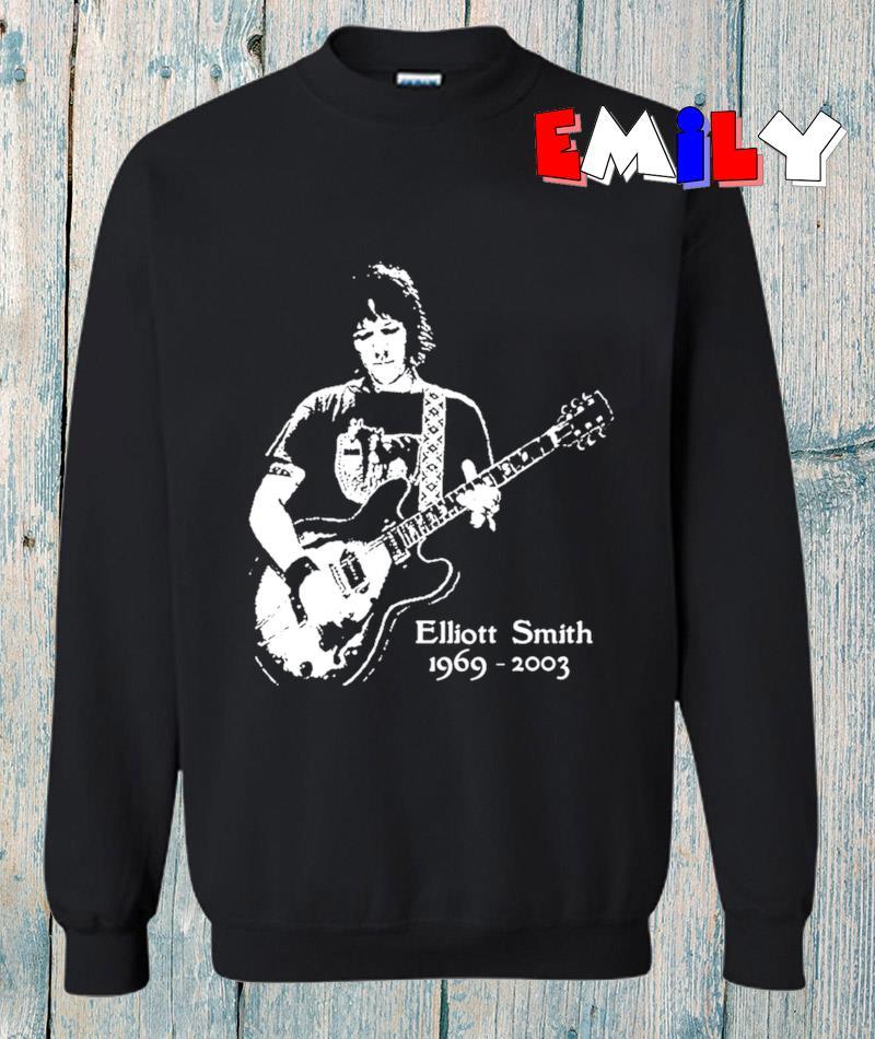 Elliott Smith Xo Indie pop legend sweatshirt