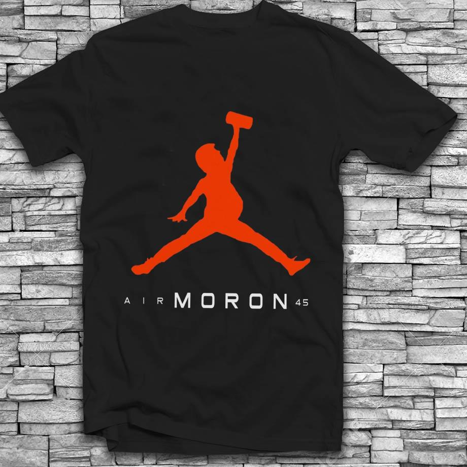 Funny Donald Trump Air Moron 45 t-shirt