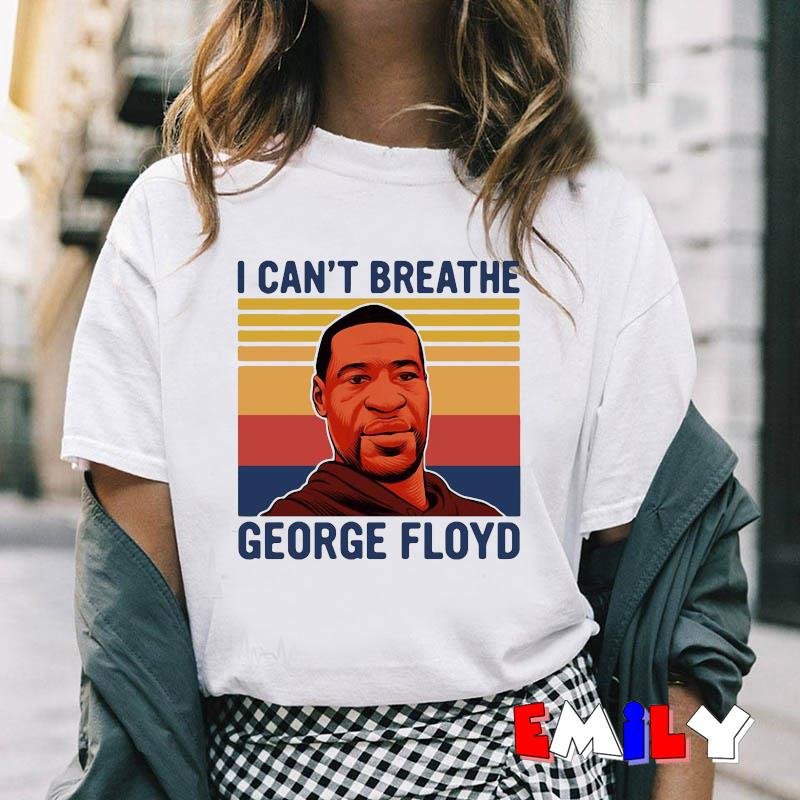 George Floyd I cant breathe vintage African Americans t-shirt