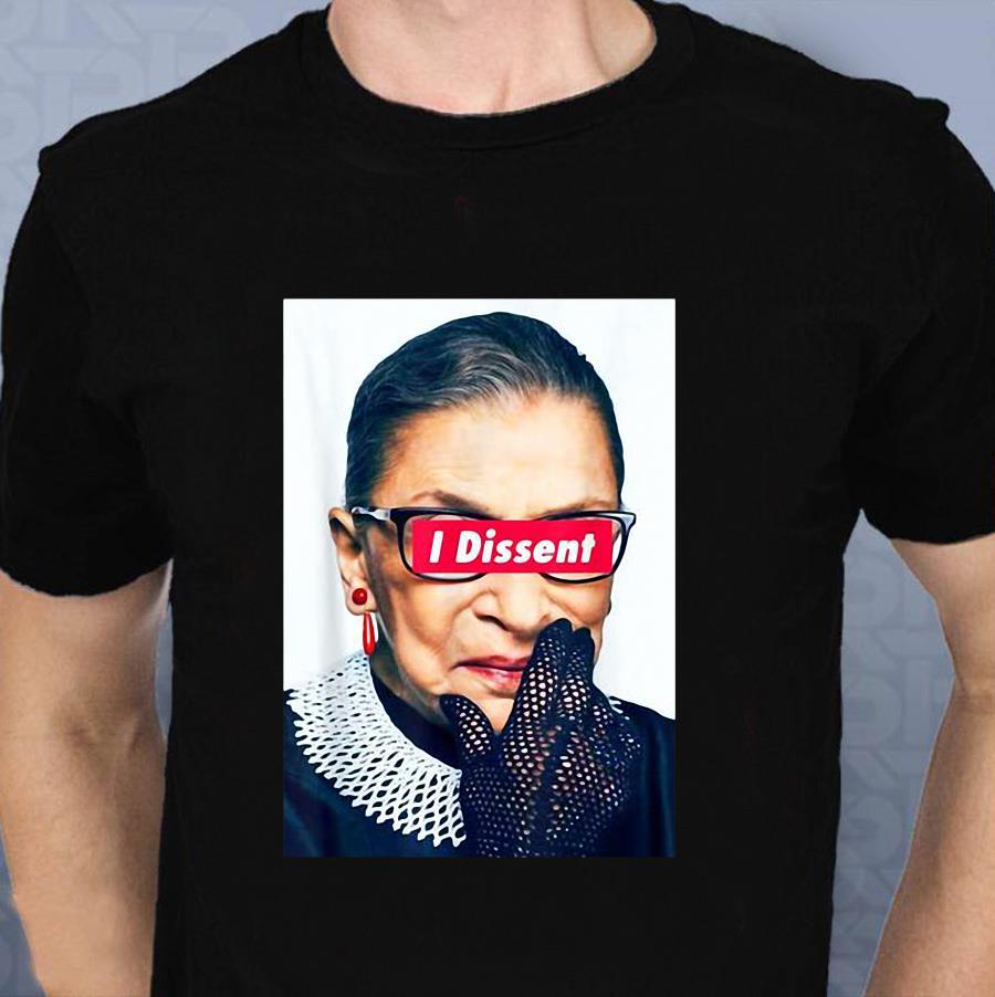 I Dissent RBG Ruth Bader Ginsburg t-shirt