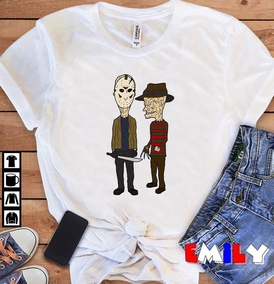Jason Voorhees vs Freddy Krueger Rick and Morty unisex shirt