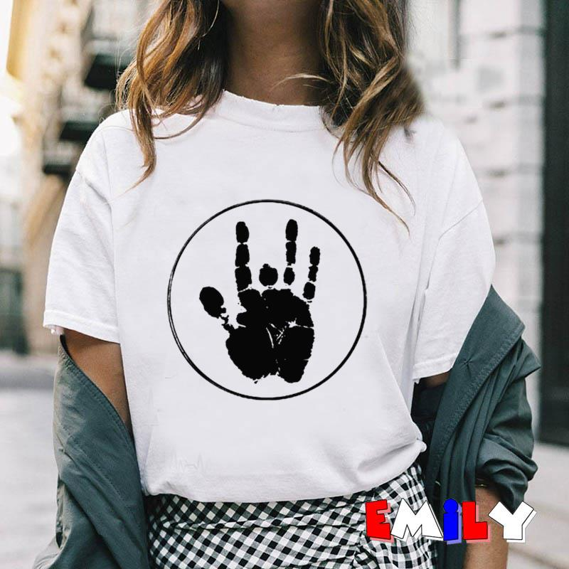 Jerry Garcia Handprint black