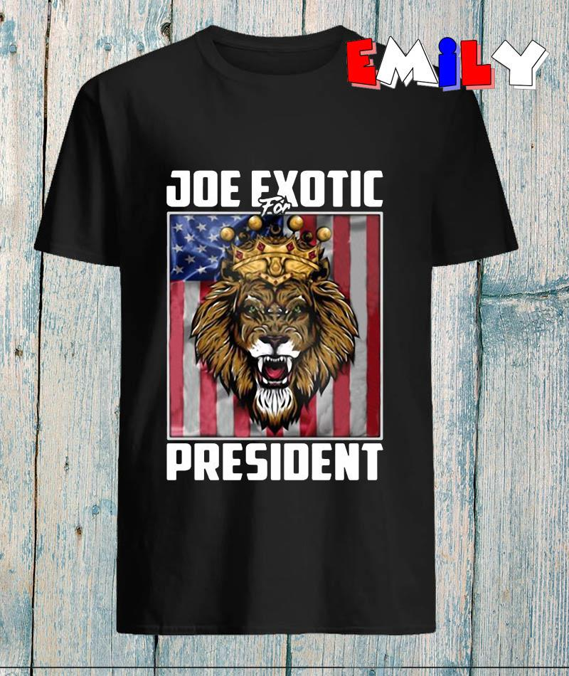 Joe Exotic for president 2020 American flag